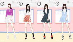 Lovelyz - Ah Choo~ - Jin, Seo Ji Soo, Kei, Mijoo