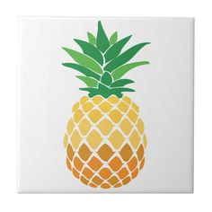 Beach Hut Decor, Pineapple Kitchen, Office Gifts, Keep It Cleaner, White Ceramics, Holiday Cards, Kitchen Decor, Home Improvement, Tile