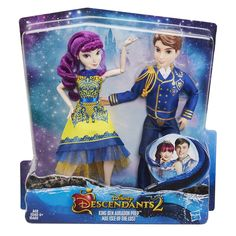 Christmas Dolls Disney Descendants 2 King Ben Auradon Prep Mal Isle of The Lost for sale online The Descendants, Disney Descendants Dolls, Disney Dolls, Ever After High Toys, Christmas Gifts For Teenagers, Christmas Toys, Christmas 2019, Girl Toys Age 5, Girls Toys