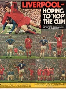 Liverpool 2 Everton 1 at Old Trafford in Liverpool came from behind to win Arsenal Liverpool, Charlie George, Arsenal Goal, Merseyside Derby, White Hart Lane, Arsenal Football, Wembley Stadium, Jumping For Joy