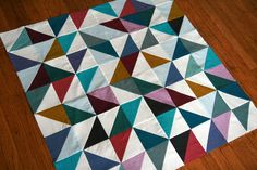 Shot cotton baby quilt | Flickr - Photo Sharing!