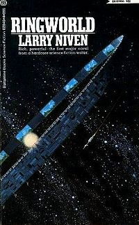 """One of the best in science fiction, Larry Niven's book """"Ringworld"""" takes you on a fascinating journey into the future!"""