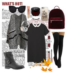 """""""23 sept"""" by serban-lorena on Polyvore featuring MANGO, Frye, even&odd, Casetify, B&O Play, Burberry and Too Faced Cosmetics"""