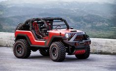 Jacked up and ready to rock, this 2016 Jeep off-roader by designer Igor Dmytrenko is built for action. Now, let's get Jeep to actually build one. Cj Jeep, Jeep Cars, Jeep 4x4, Wrangler Pickup, Jeep Wrangler, Jeep Concept, Badass Jeep, 2016 Jeep, Custom Jeep