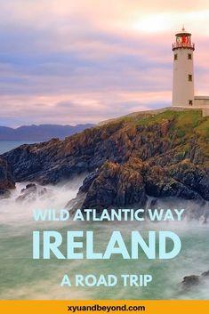The Wild Atlantic Way route | Ireland's Atlantic coast | Wild Atlantic Way road trips | Wild Atlantic Way maps | Wild Atlantic Way photography #Ireland #travelIreland #wildatlanticWay #WAW | dingle peninsula | Donegal | Mayo | Cork | Ring of Kerry | Skelligs | visit Ireland | road trip Ireland | Irish itinerary |