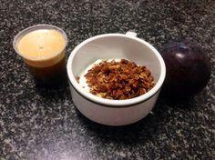 Continuamos nas preferências do Personal NUTRI Trainer :-) Granola de arandos Doce Papoila, ameixo e café. Obrigada!