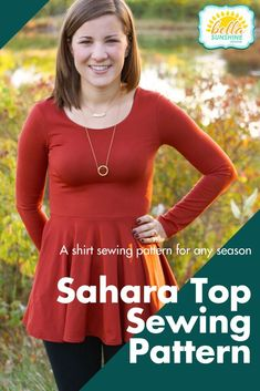 20 Easy Sewing Projects for Beginners - Resouri Diy Clothing, Sewing Clothes, Dress Sewing, Dress Patterns, Sewing Patterns, Fall Sewing, Winter Shirts, How To Hem Pants, Make Your Own Clothes