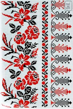 Discover thousands of images about Ukrainian cross stitch pattern Cross Stitch Heart, Cross Stitch Borders, Cross Stitch Flowers, Cross Stitch Designs, Cross Stitching, Cross Stitch Patterns, Towel Embroidery, Folk Embroidery, Cross Stitch Embroidery