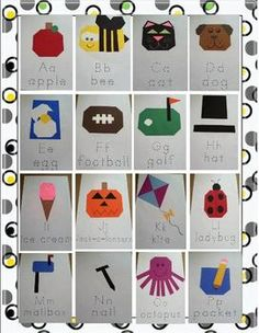 Easy Crafts from A Z - Miss Kindergarten Love - TeachersPayTeachers.com