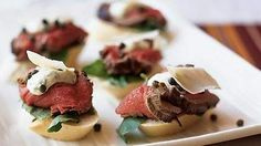 These mini sandwiches are a great beef tenderloin appetizer.