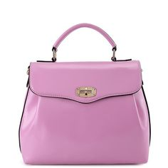 Candy Color Hasp Tote Bag (€23) ❤ liked on Polyvore featuring bags, handbags and tote bags