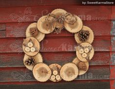 Rustic Real Wood and Burlap Fall or Christmas Wreath 22 Wood Crafts Burlap Christmas Fall real Rustic Wood wreath Christmas Wood Crafts, Christmas Projects, Fall Crafts, Holiday Crafts, Christmas Wreaths, Burlap Christmas, Etsy Christmas, Silver Christmas, Christmas Wrapping