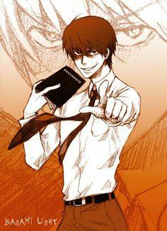 { #light #yagami #kira #death #note #deathnote }