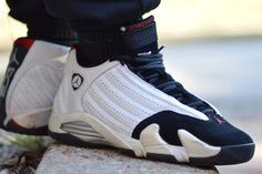 Air Jordan 14. Now, these are OGs  im kinda glad they changed the sides but the vents on the sides gave it originality