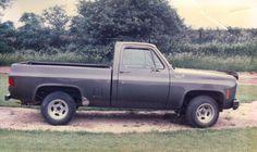 My 1979 Chevy c10 taken in 1987