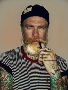 multi-faceted color beard