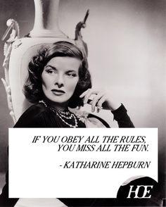 Quote of the Day: Katharine Hepburn