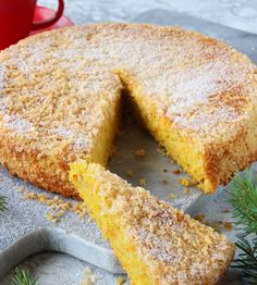 Dairy Free Recipes, Gluten Free, Christmas Baking, Lchf, Cornbread, Free Food, Tart, Food And Drink, Sweets