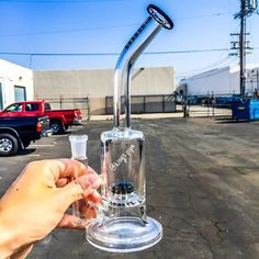 PURR - NANO MATRIX WATER PIPE  This awesome water pipe from @purrglass is available with different color accent choices on our online HeadShop!  KINGS-PIPE.COM  #KINGsPipe