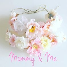 Mommy & Me Flower Crown Set