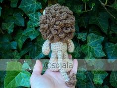 Little Bigfoot Lion Free Häkelanleitung, Crochet Lion, Free Crochet, Easy Crochet Patterns, Crochet Patterns Amigurumi, Sharon Ojala, To Go, Lion Mane, Bigfoot, Free Pattern