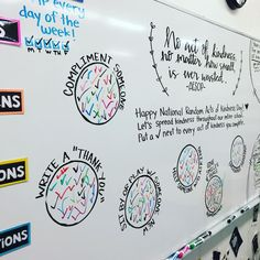 Talk about cultivating an encouraging and positive classroom climate! is the queen! She should write a book, sell a bajillion copies, and send me an autographed copy! Check out her other conversation-starter whiteboard prompts! Classroom Organization, Classroom Management, Classroom Whiteboard, Organization Ideas, Writing A Book, Writing Prompts, Capturing Kids Hearts, Bell Work, Leadership Activities