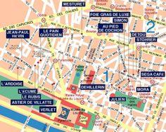 Paris Food Itineraries