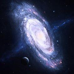 andromeda galaxy fantasy