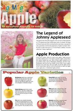 Ag Mags are a great way to introduce anyone to different aspects of agriculture! Available online at www.agfoundation.org under Resource Orders then AFBFA