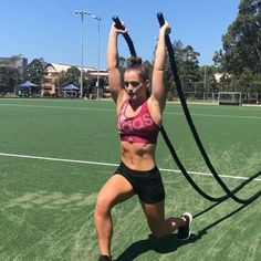 "3,436 Likes, 148 Comments - Tanya Poppett (@tanyapoppett) on Instagram: "" Badass Battleropes Soooooo much stuff you can do with battleropes... and this is just the tip…"""