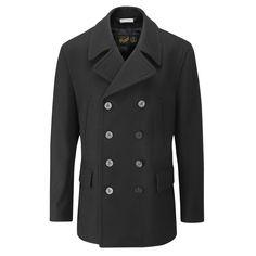 Mens | Churchill Reefer Coat | Gloverall | Gloverall