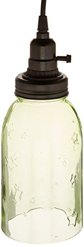 CWI Gifts Mason Jar Lamp with Black Lighting Fixture 8 Green -- You can get more details by clicking on the image. (Note:Amazon affiliate link)