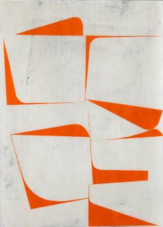 LACOSTE — Fascinating white and orange graphics. Art Moderne, Art Graphique, Grafik Design, Geometric Art, Textures Patterns, Collage Art, Sculpture Art, Painting & Drawing, Graphic Art