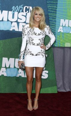 Carrie Underwood at the CMT Awards in Nashville