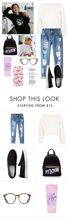 """""""On set with Mille"""" by joelene-garcia ❤ liked on Polyvore featuring Chicnova Fashion, Topshop, O'Neill, ban.do and Forever 21"""