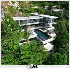 The Villa Amanzi located in Cape Sol on the West coast of Phuket, Thailand. Amazing!