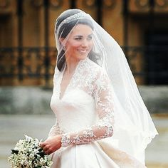 Kate Middleton. She is just so classically gorgeous. This is my favorite picture of her.