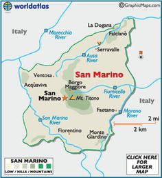 San Marino is the oldest state in Europe, and the third smallest country in Europe, when compared to the Vatican and Monaco....