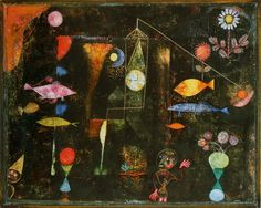 Artes do A'Uwe: Obras de Paul Klee