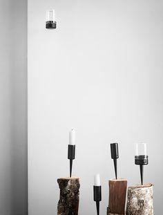 PipeCandleholder, Vertical, Horisontal Design by Pernille Vea
