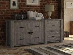 Drewniana komoda Country 16 - Duża, masywna | sklep Seart