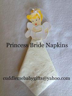 Princess Bride Paper Napkins by CuddleMeBabyGifts on Etsy, $6.00 @Disney Store @Walt Disney Studios @The Knot @Martha Stewart Weddings Magazine