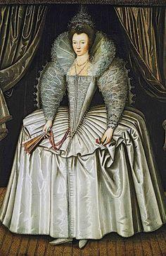 1595-1605 Lady, identified as Elizabeth Howard, daughter of Charles, 1st Earl of Nottingham