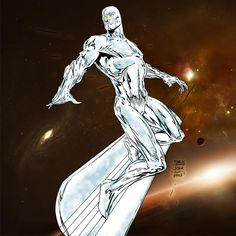 Silver Surfer Finch-Stone-Me by ~pascal-verhoef on deviantART