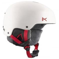 ANON LYNX WHITE Golf Pro Shop, Burton Snowboards, Winter Is Coming, Snowboarding, Bicycle Helmet, Hats, Lynx, Outdoors, Woman