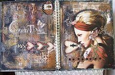 Inspirujte se originální sbírkou ART journalů. | Davona výtvarné návody