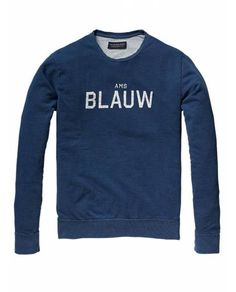 Crew neck sweater - Sweaters - Official Scotch & Soda Online Fashion & Apparel Shops