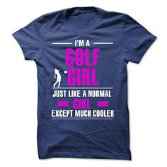 I'm A Cool Golf Girl T-Shirt