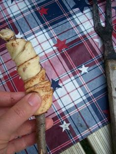 Campfire Roasted Cinnamon Rolls