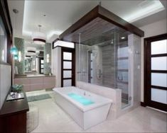 Master Bath Design Trends 2020 | Home&Garden Bath Trends, Bathroom Trends, Bathroom Interior, Bathroom Ideas, Bathrooms 2017, Bathroom Colors, Bathroom Remodeling, Spa Like Bathroom, Amazing Bathrooms
